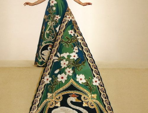 Fiesta Coronation Gown #2