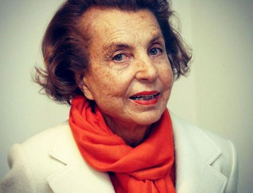 LILIANE BETTENCOURT  2017—RIP. L'Oreal Paris