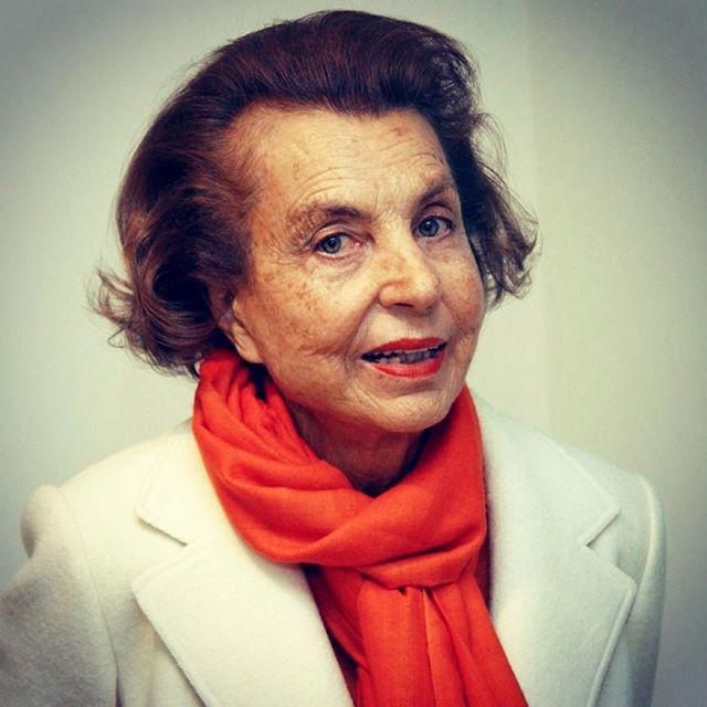LILIANE BETTENCOURT  2017---RIP. L'Oreal Paris